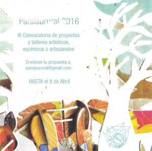 cartel convocatoria 2016